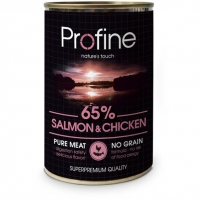 ProFine Salmon&Chicken лосось и курица 400г
