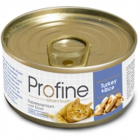 ProFine Turkey&Rice индейка и рис 70г