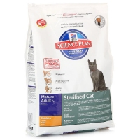 SP Hill's Mature Adult +7 Sterilsed Cat Chicken 300g
