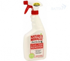 Natures Miracle Stain & Odor Remover Cat 709ml