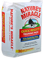 Nature's Miracle No Tracking Absorbent Pads 30шт