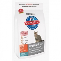 SP Hill's Young Adult Sterilised Cat with Tuna 1,5kg