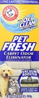 Arm&Hammer Pet Fresh OxiClean Дезодорант для ковров ПетФреш 850g
