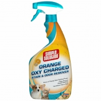 Simple Solution Orange Oxy Charged Stain&Odor Remover средство удал запахи животных, апельсин 945ml