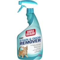 Simple Solution Cat Stain&Odor Remover средство удаляющее запахи  кошек, 945ml