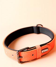 Fida Ошейник для собак, S, 23-30см, оранжевый