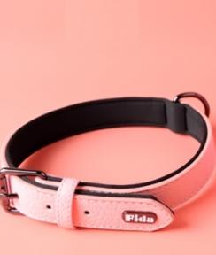 Fida Ошейник для собак, S, 23-30см, розовый