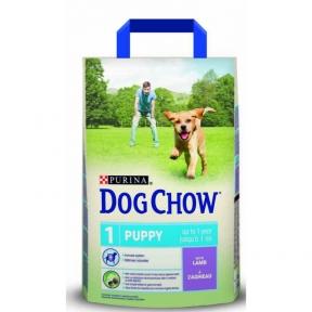 Dog Chow Puppy с ягненком 2.5 кг