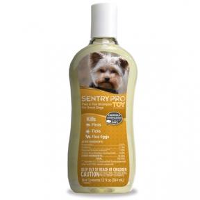 Sentry Pro Toy Shampoo шампунь от блох и клещей для собак мини и малых пород 354мл