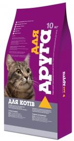 Корм коты Для друга курка 10 кг