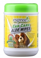Espree Aloe Ear Care Pet Wipes 60шт