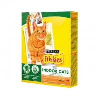 Friskies Indoor Cats с курицей 270g