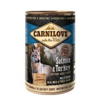 Carnilove Dog Salmon&Turkey консервы, 400g